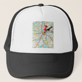 Bruxelles, Brussel, Brussels  in Belgium Trucker Hat