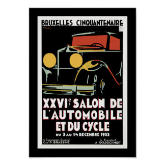 Bruxelles Cinquantenaire Poster