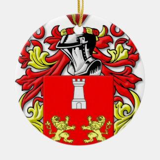 Bruzzi Coat of Arms Ornament