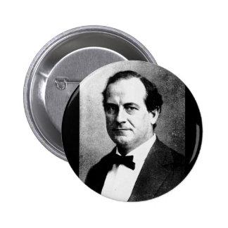 Bryan - William Jennings Political Leader Orator 6 Cm Round Badge
