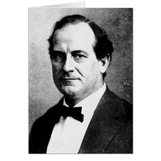 Bryan - William Jennings Political Leader Orator Greeting Card