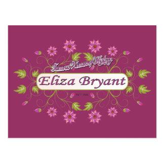 Bryant ~ Eliza Bryant / Famous USA Women Postcard