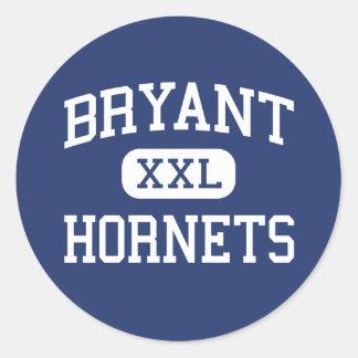Bryant - Hornets - High School - Bryant Arkansas Classic Round Sticker