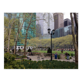Bryant Park NYC Postcards