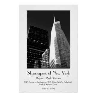 'Bryant Park Towers' Poster