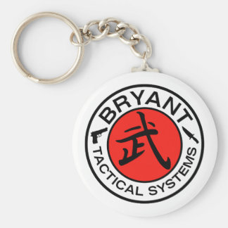 Bryant Tactical Systems Basic Round Button Key Ring