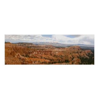 Bryce Canyon Amphitheatre Panorama Poster