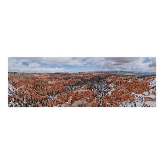 Bryce Canyon: Bryce Point Panoramic Print