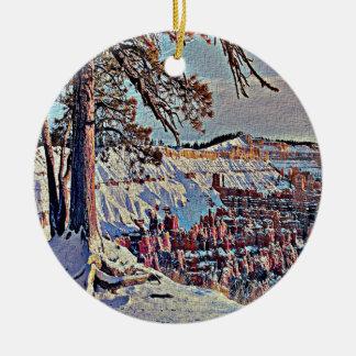 Bryce Canyon Christmas Ornament