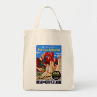 Bryce Canyon Grocery Tote Bag