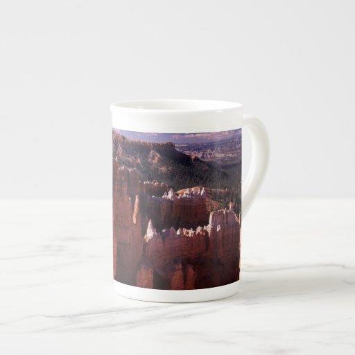 Bryce Canyon National Park at Sunset Bone China Mugs