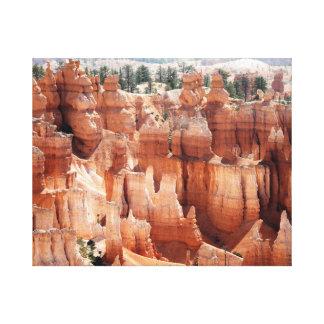 Bryce Canyon National Park Canvas Wall Art