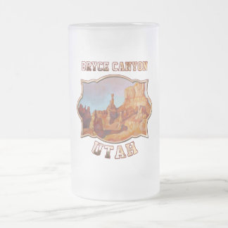 Bryce Canyon National Park Frosted Glass Mug