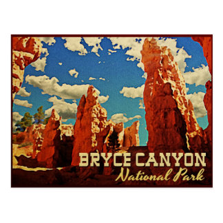 Bryce Canyon National Park Postcard