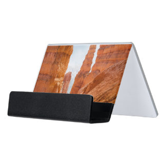 Bryce Canyon National Park Trail Desk Business Card Holder