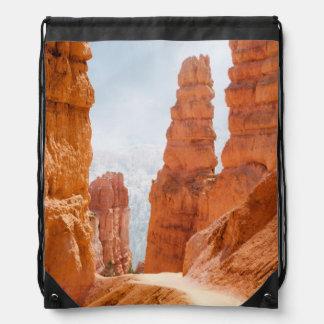 Bryce Canyon National Park Trail Drawstring Bag