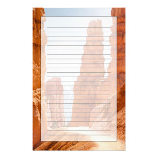 Bryce Canyon National Park Trail Stationery