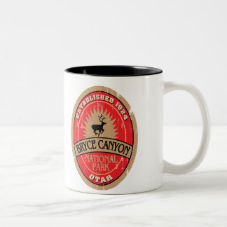 Bryce Canyon National Park Two-Tone Coffee Mug