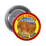 Bryce Canyon National Park, Utah Pinback Buttons