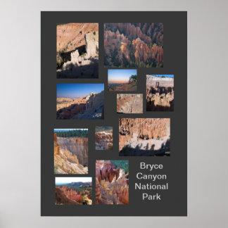 Bryce Canyon Ntl. Park Custom Travel Poster