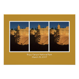 Bryce Canyon Sunrise Poster