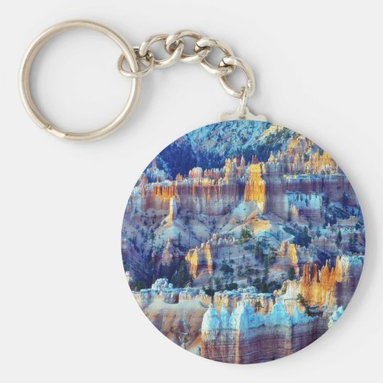 Bryce Canyon Sunrises Key Ring