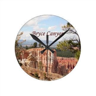 Bryce Canyon, Utah 22 (caption) Round Clock