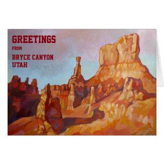 Bryce Canyon, Utah Card