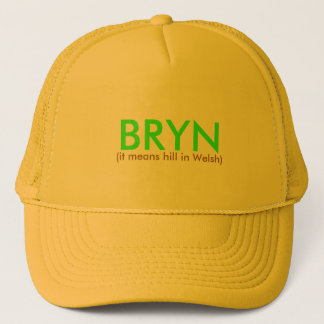 BRYN, (it means hill in Welsh) Trucker Hat