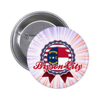 Bryson City NC Pinback Button