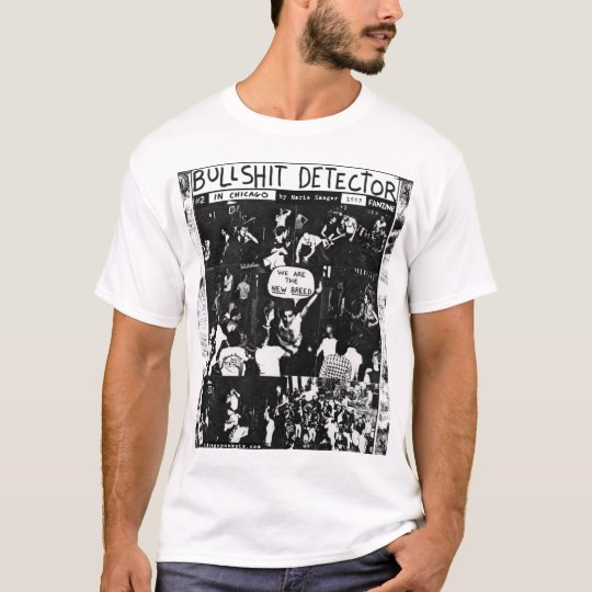 BS Detector #2 Fanzine Cover T-Shirt