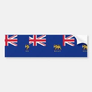 Bsac, United Arab Emirates flag Bumper Stickers