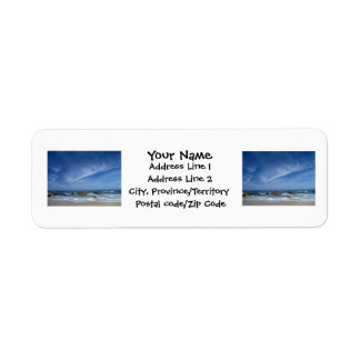 BSCW Bright Skies and Clear Waters Return Address Label