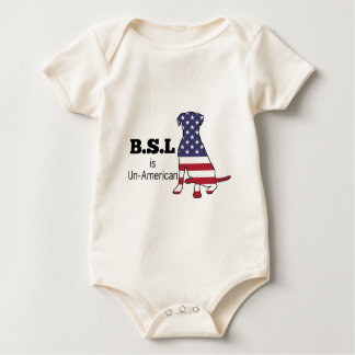 BSL is Un-American, Pitbull Support Bodysuit