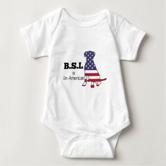 BSL is Un-American, Pitbull Support Tee Shirt