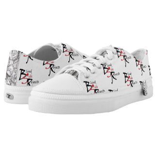 BSR White Logo Low Tops