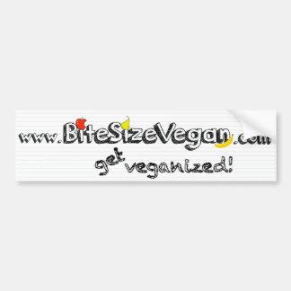 BSV Get Veganized Bumper Sticker