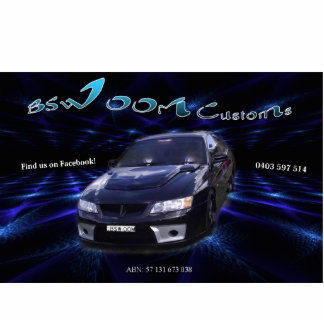 bswoom car cutout standing photo sculpture
