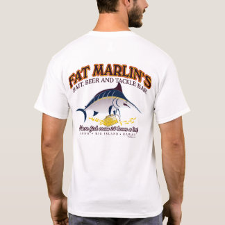 BT267 - Fat Marlin's Bait, Beer & Tackle Tee