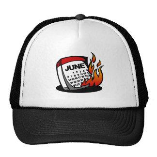 BT Flaming June Mesh Hat