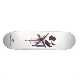 BTC  3-D logo skate deck