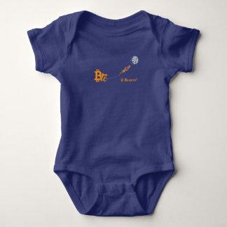 Btc to the Moon! Baby Bodysuit