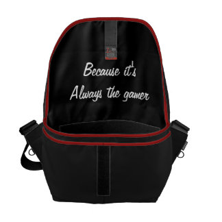 BTG quote messenger bag