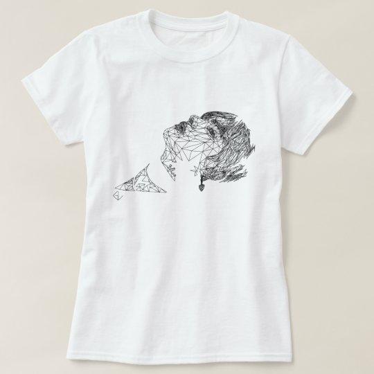 BTS V Polygon Fan Art Design T-Shirt