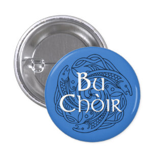 Bu Choir 3 Cm Round Badge