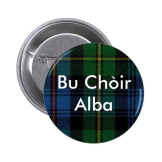 Bu Chòir Alba 6 Cm Round Badge