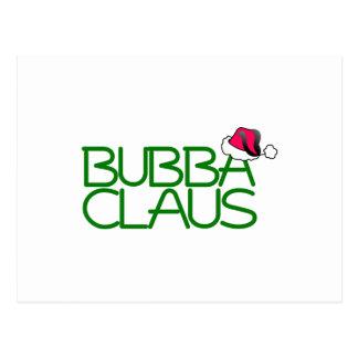 Bubba Claus Postcard