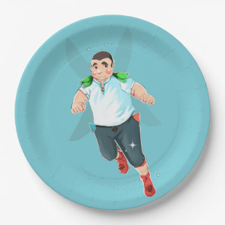 """Bubba The Head Candy Taster Custom Paper Plates 9"""""""