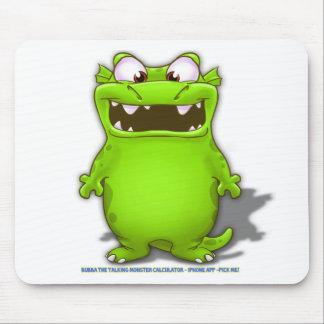 Bubba the Talking Calculaotr Monster Mousepad