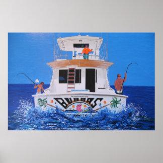 Bubbas boat poster